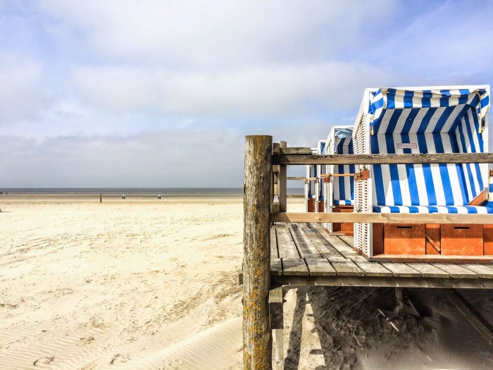 Am Strand in SPO