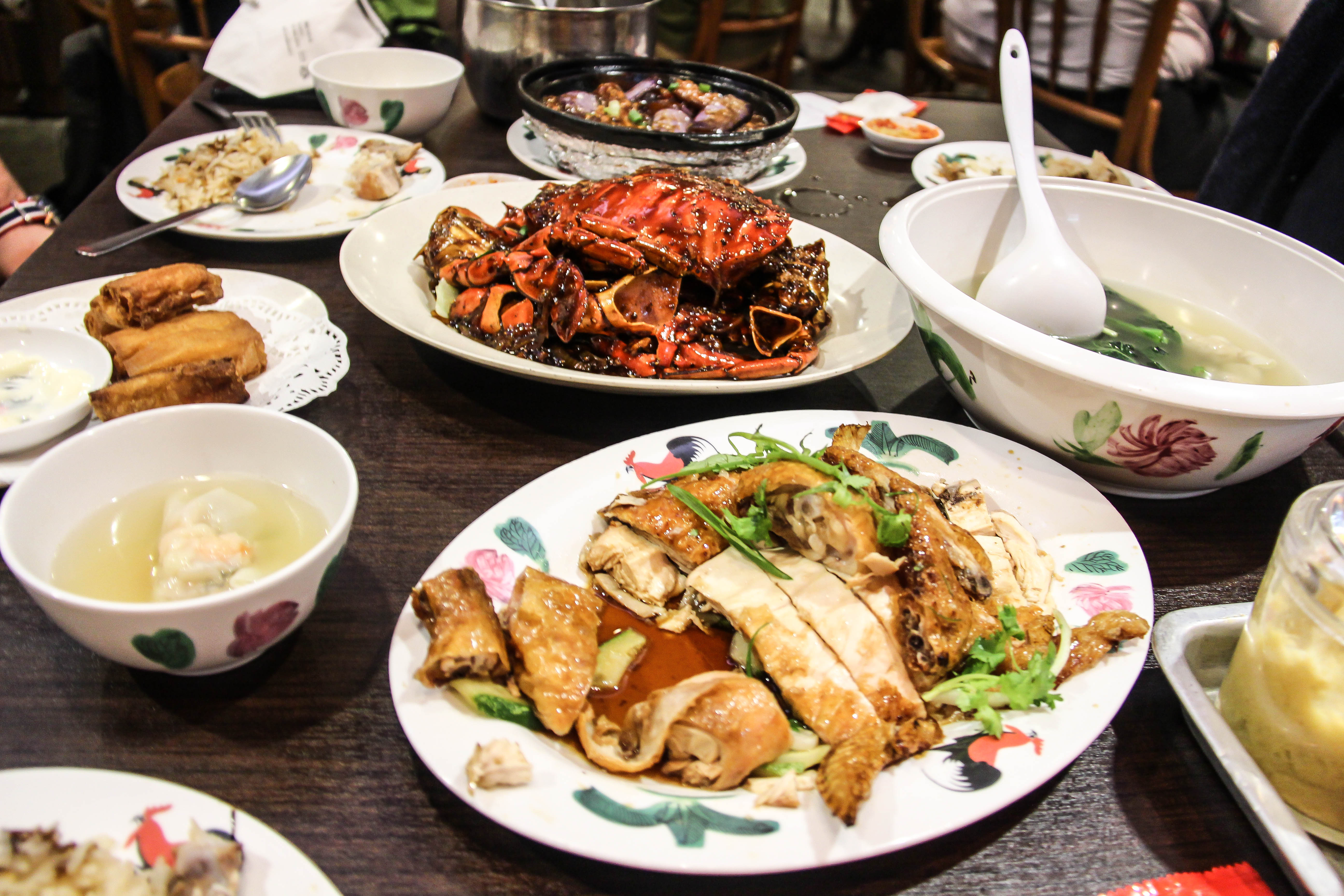 Essen in Singapur