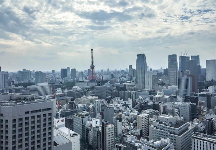 Park Hotel Tokio Skyline Ausblick 3