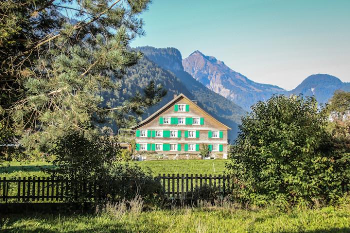 Bizau im Vorarlberger Land