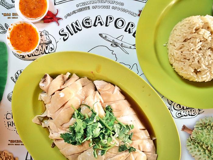 Hainanese Chicken Rice von Tian Tian
