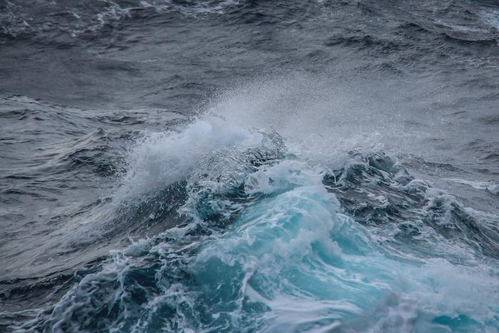 Drake Passage Wellen MS Midnatsol