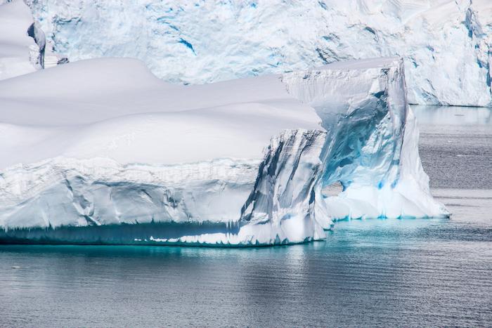 Eisberge Cuverville Island MS Midnatsol Antarktis