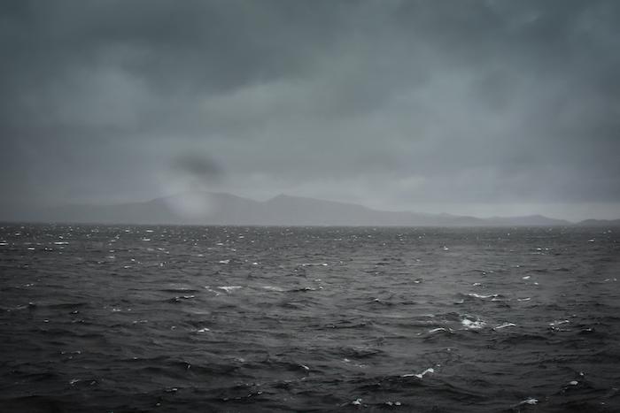 Kap Hoorn im Wind und Regen