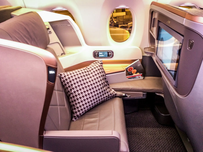 Singapore Airlines A350 Die Neue Business Class
