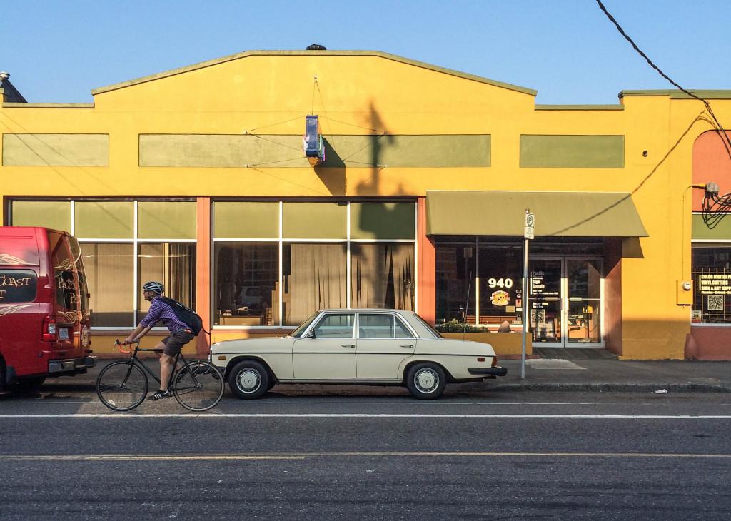 Benz in Portland