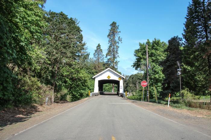 Bruecke Oregon Roadtrip