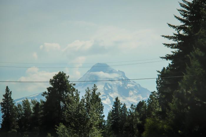 auf dem Weg nach Mount Hood_