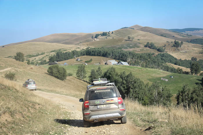 SkodaEuroTrek Karpaten Bergfahrt
