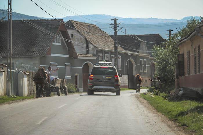 SkodaEuroTrek Karpaten Dorf 2