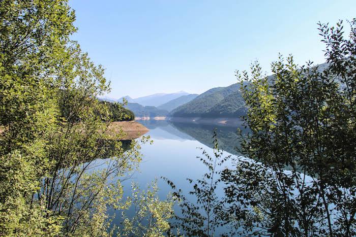SkodaEuroTrek Lacul Prisaca Stausee