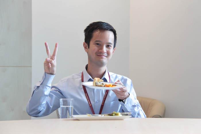 SIngapore Airlines Matt Moran Tasting
