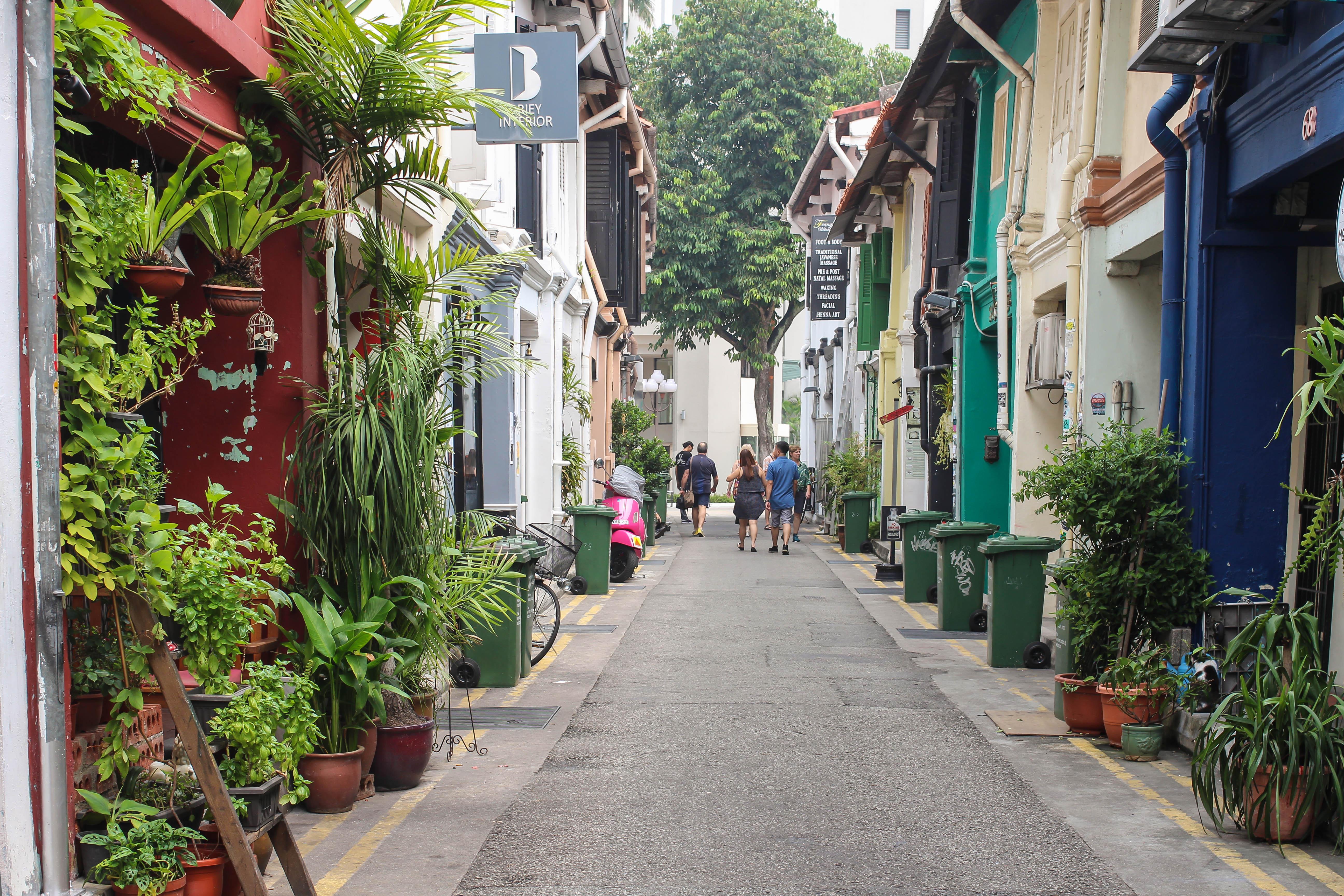 Singapore Hipster Viertel