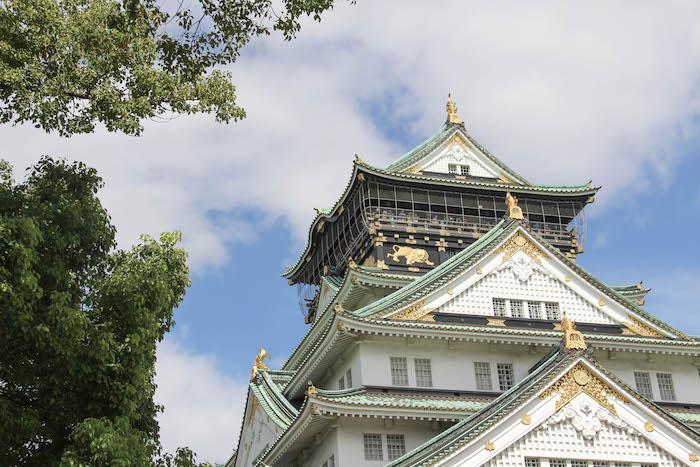 Burg von Osaka Reisefreunde