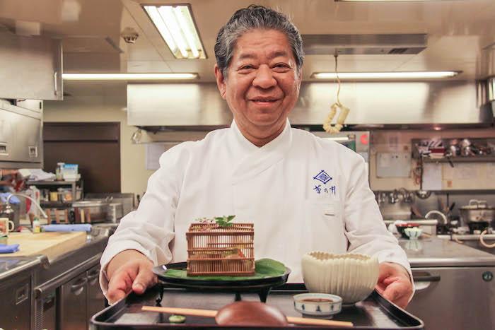 Chef Yoshihiro Murata Kyoto Kikunoi Kaiseki