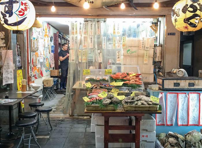 Kuromon Ichiba in Osaka Reisefreunde