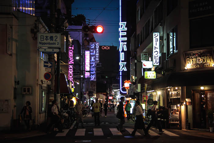 Osaka nacht