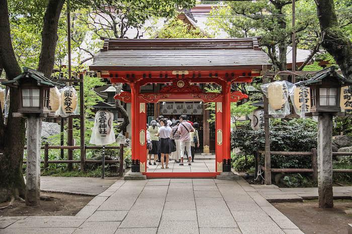 Atago Tempel Tokio