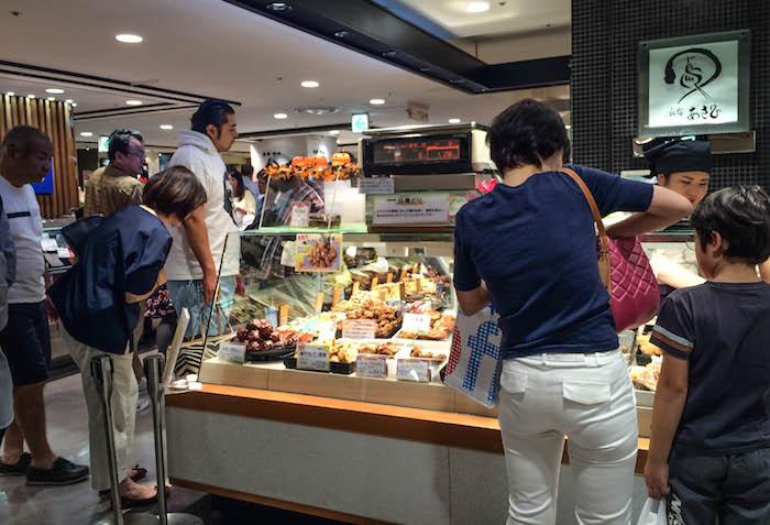 Essen Shibuya Station tokio