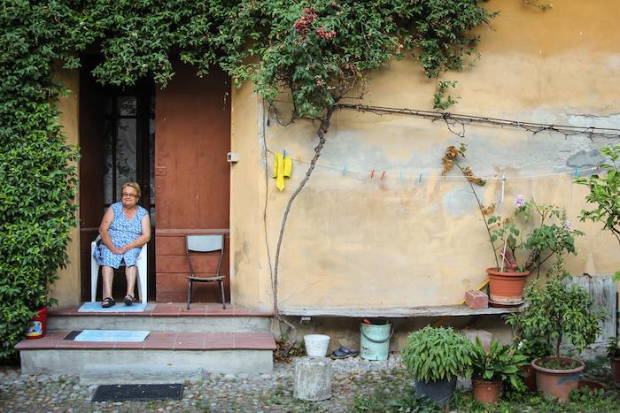 Altes Dorf nahe Bologna