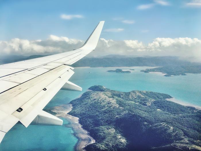 anflug-whitsunday-island