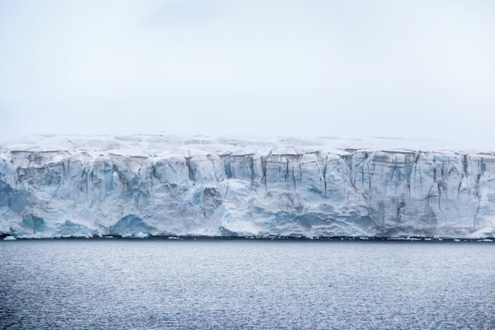 Half Moon Bay Gletscher