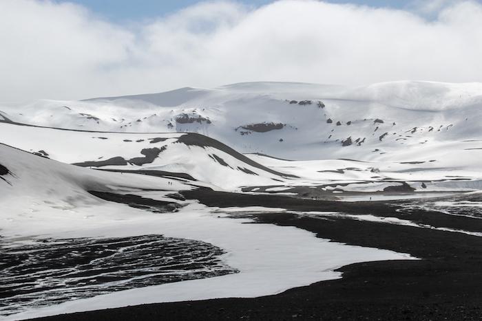 Landschaften Deception Island Antarktis