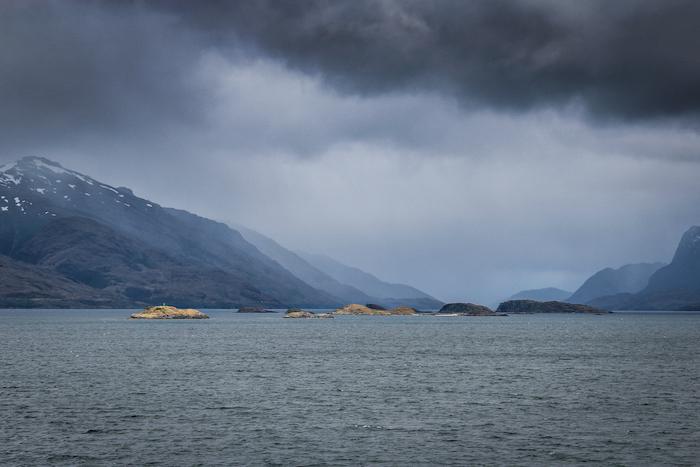 Wolken Patagonien MS Midnatsol