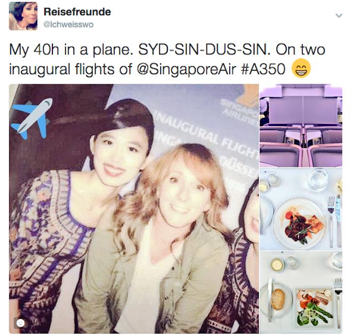 Reisefreunde twitter A350
