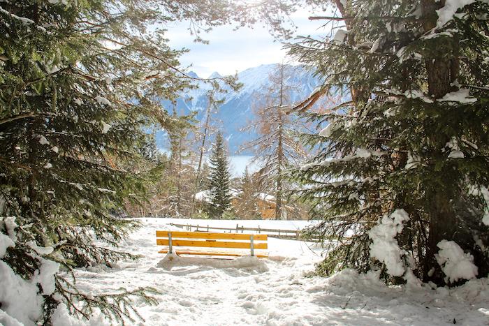 Seefeld Tirol Wandern im Winter